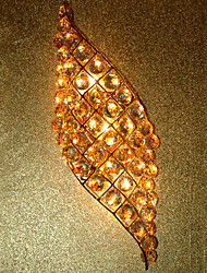 Artistic Crystal Wall Light with 2-Lights