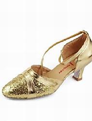 сверкающий блеск верхней танцевать бальные туфли современной обуви для женщин больше цветов