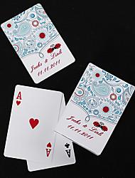 personnalisés cartes à jouer - coccinelle