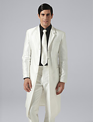 Custom Made Single Breasted Four-button Notch Lapel Groom Tuxedo
