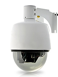 Mini Dome IP Camera (Weatherproof, PTZ Control, 3x Optical Zoom, WiFi)