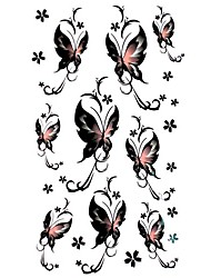 5 pcs tatouage de papillon étanche temporaire (17.5cm * 10cm)