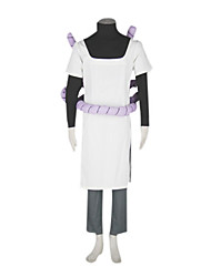 Inspired by Naruto Orochimaru Anime Cosplay Costumes Cosplay Suits Patchwork White Long Sleeve Coat / T-shirt / Pants / Rope / Bandage