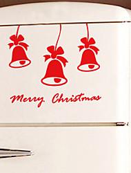 decorazione della parete adesivi ornamenti vacanza Jingle Bell