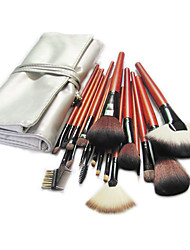 18 Pieces silver Bag of Brushes