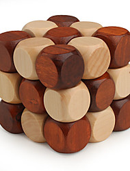 Smooth Speed Cube 3*3*3 Magic Cube Wood