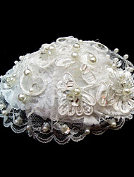 Women's Lace/Imitation Pearl Headpiece - Wedding/Special Occasion Flowers
