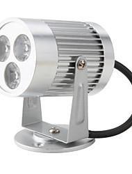 blanche 3-projecteur mené compteur (3w ,95-265V ,6000-6300K)