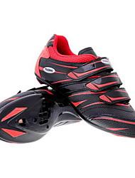 Radweg spd Schuhe mit Fiberglas Sohle und PVC Obermaterial kann die Kompatibilität SPD, Look, SPD-R, SPD-SL