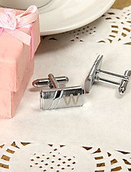 Gift Groomsman Personalized Long Cufflinks