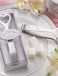 Stainless Steel Love Design Sugar Tongs