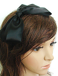 TS Tree Women's Satin Bowtie Headband