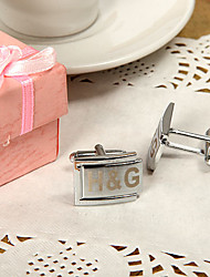 Gift Groomsman Personalized Tasteful Cufflinks