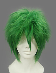 Cosplay Wigs Naruto Zetsu Green Short Anime Cosplay Wigs 32 CM Heat Resistant Fiber Male