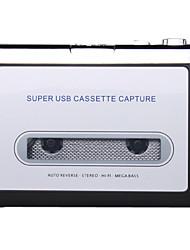 Ezcap USB Cassette Capture, Convert Tapes and Cassette to MP3, Portable USB Cassette-to-MP3 Converter Capture