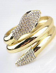 Legering Unisex Cuff armband Armbanden Bergkristal