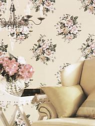 de style classique venus des pays grands floraux de papier peint 6 couleurs
