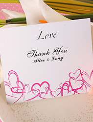 Thank You Card - Love (Set of 50)