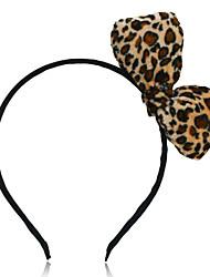 spectaculaire arc léopard bandeau