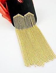 brincos de ouro instrução borla