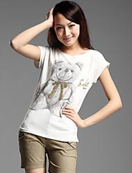 Basic Bear Printed T-shirt