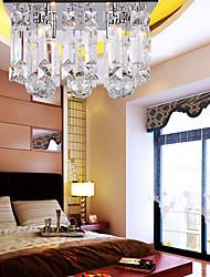 Lámpara Chandelier de Cristal con 4 Bombillas - AGDE