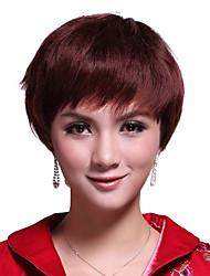 Capless Short 100% Human Hair Wig