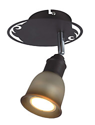 Stylish Semi Flush Mount with 1 Light - Downward