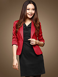 Basic Single Button Blazer