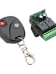 2-Channel Remote Control Receiver and 2-Key Transmitter