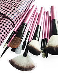 Professional Brush Set With Dark Lovely Pouch(11 Pcs)