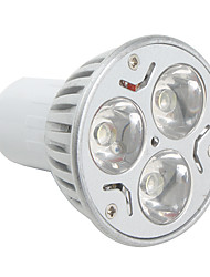 GU10 3 W 3 High Power LED 270 LM Natural White MR16 Spot Lights AC 85-265 V
