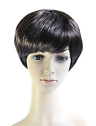 Capless Short 100% Heat Friendly Fiber Natural Look Hair Wig