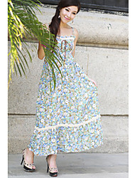 Cotton Square Neck Maxi Dress (More Colors)