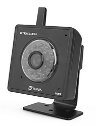 tenvis - Wireless Mini IP de la red iphone cámara / Android / BlackBerry compatibles (negro)