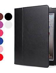Litchi Grain Protective PU Leather Case with Stand for iPad 2/3/4 (Auto Sleep Function, Assorted Colors)