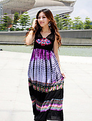 Cotton Halter Maxi Dress