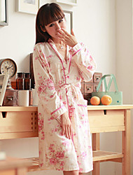 Printed Over-lapped Nightwear