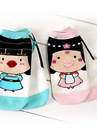 милый ситец мультфильм не показывают носки (несколько цветов) (носки дизайн может меняться)