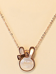 Rabbit Shell Necklace
