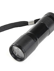 LED Flashlights/Torch / Handheld Flashlights/Torch LED 1 Mode Lumens Others 10440 Others , Black Aluminum alloy