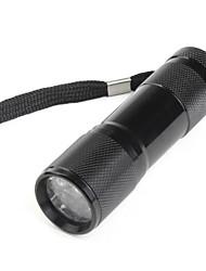 LED Taschenlampen / Hand Taschenlampen LED 1 Modus Lumen Andere 10440 Andere , Schwarz Aluminium Legierung