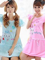 Couple Bears Print Pajama