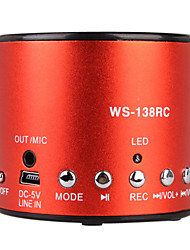 Hot Recording Mini Speaker with Usb Input (FM Radio, Portable Speaker)