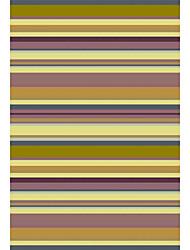 acryliques tapis tuftés avec motif de rayure 4 '* 6'