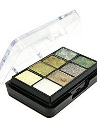8 maquillage couleurs palette de fard à paupières et fards à joues