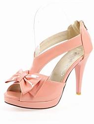 WANETA - Sandalen mit hohen Absätzen Pfennigabsatz Lackleder