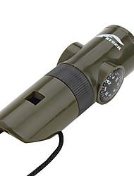 Survival Whistle Trilha Multifunção / Assobio cores sortidas