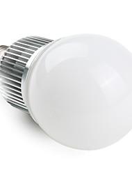 E26/E27 Bombillas LED de Globo A60(A19) 6 LED de Alta Potencia 540 lm Blanco Cálido AC 85-265 V