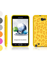 Leopard Skin Style Silicone Case for Samsung i9220 (Assorted Colors)